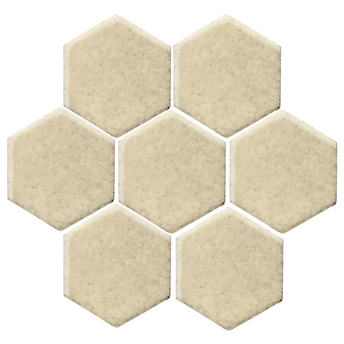 6x6 Monrovia Hexagon Light Lemon 7499c