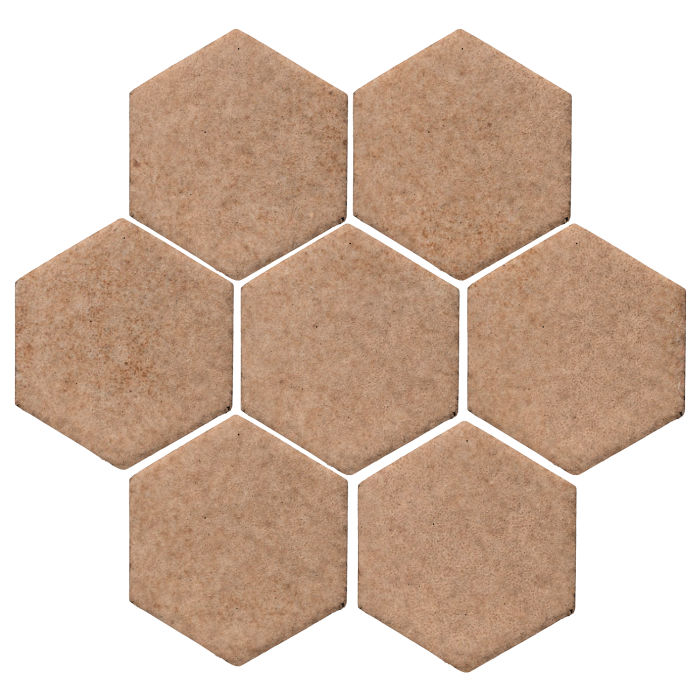 6x6 Monrovia Hexagon Nut Shell 7504u