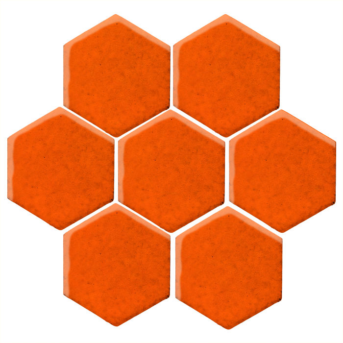 6x6 Monrovia Hexagon Sunset 1585c