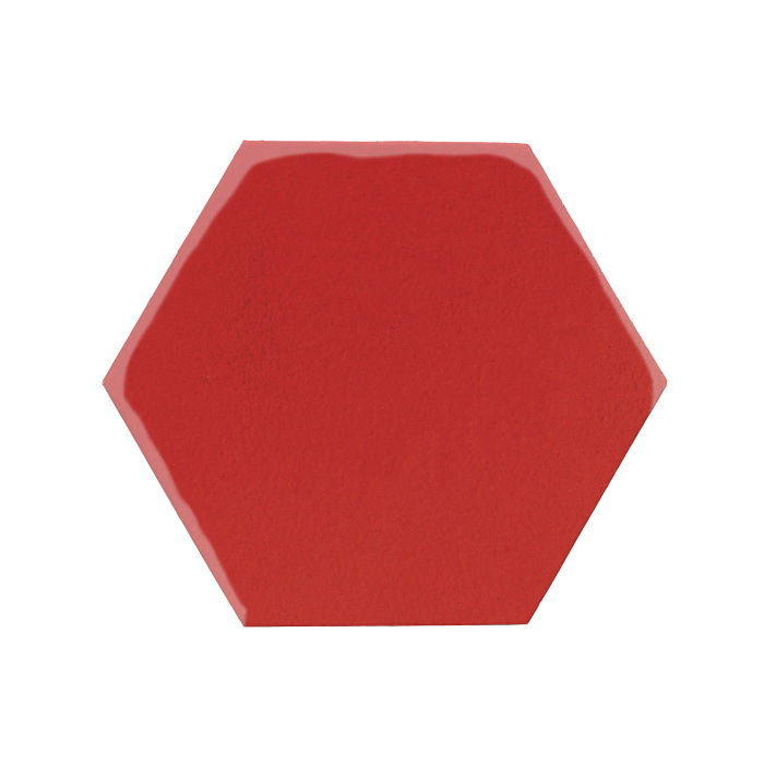 8x8 Monrovia Hexagon Apple Valley Red