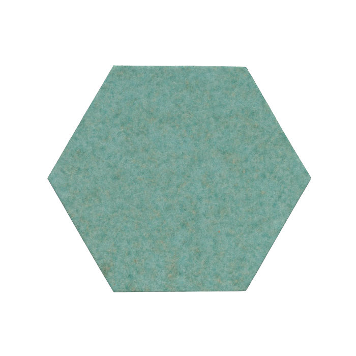8x8 Monrovia Hexagon Aqua 5503u