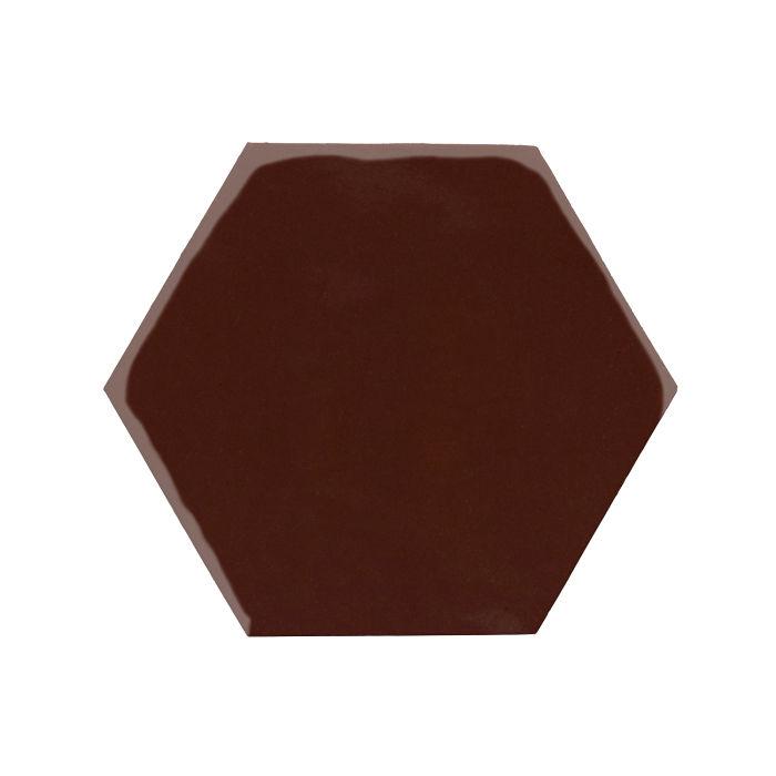 8x8 Monrovia Hexagon Cordovan 476c