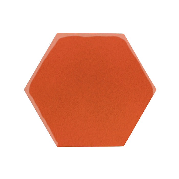 8x8 Monrovia Hexagon Hazard Orange