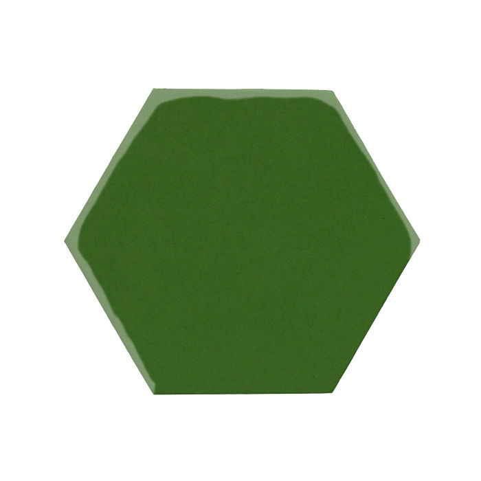 8x8 Monrovia Hexagon Lucky Green 7734c