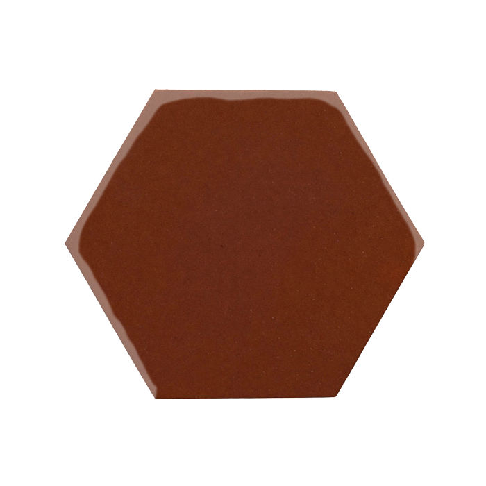 8x8 Monrovia Hexagon Mocha 7581c