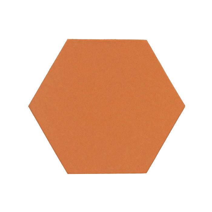 8x8 Monrovia Hexagon Pottery Brown 470u