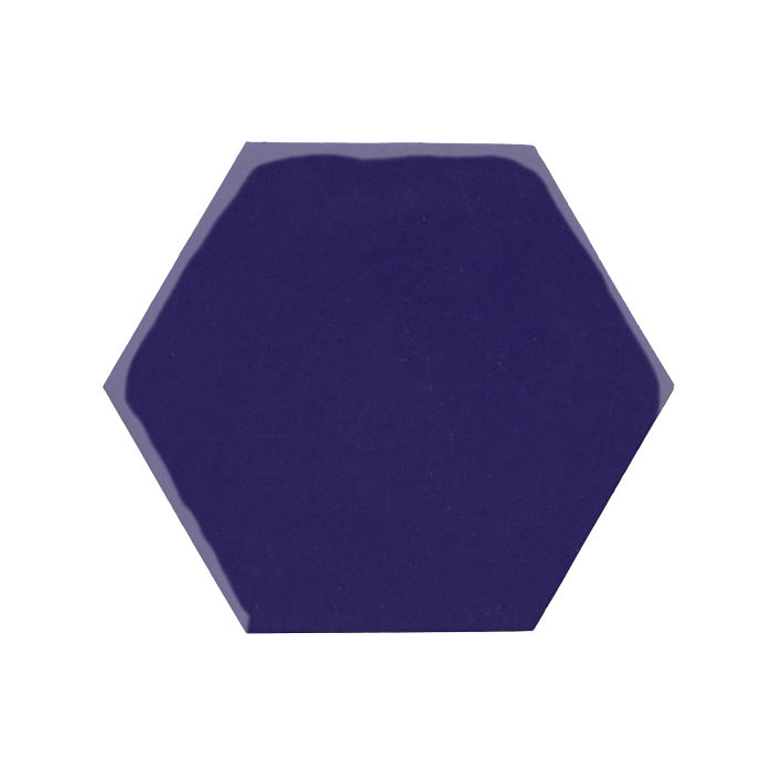 8x8 Monrovia Hexagon Ultramarine 2758c