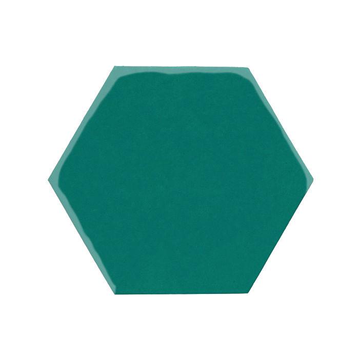 8x8 Monrovia Hexagon Viridian 7721c