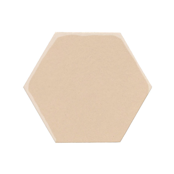 8x8 Monrovia Hexagon White Bread 7506c