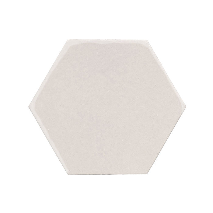 8x8 Monrovia Hexagon Pure White