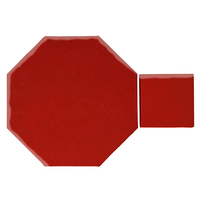 12x12 Monrovia Octagon Set Brick Red 7624c