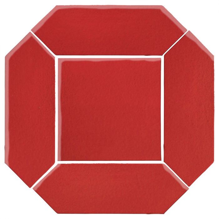 4x12 Monrovia Picket Set (2 Pcs 4x12 Monrovia Picket and 1 Pc 8x8 Monrovia) Apple Valley Red