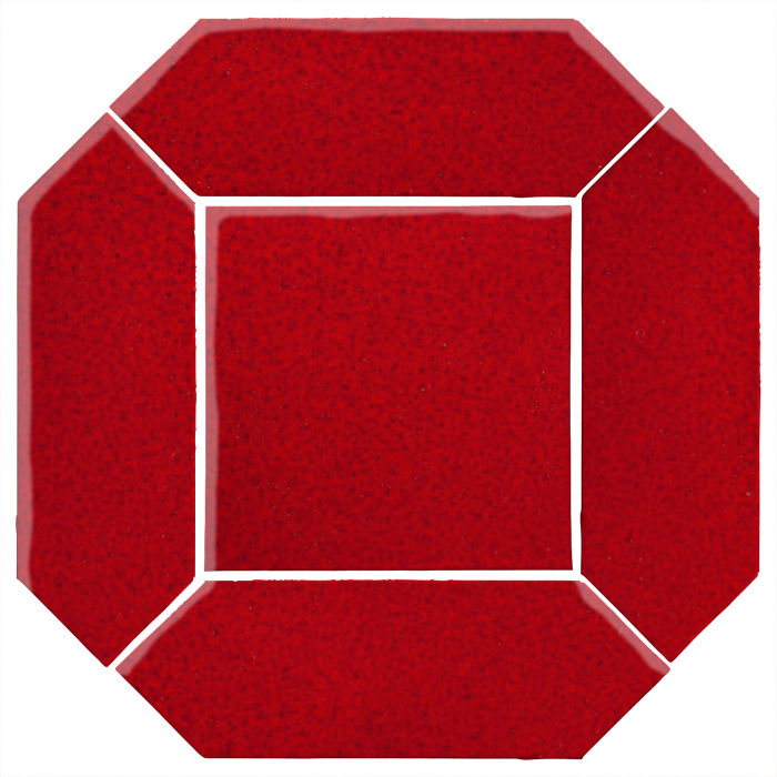4x12 Monrovia Picket Set (2 Pcs 4x12 Monrovia Picket and 1 Pc 8x8 Monrovia) Cadmium Red 202c