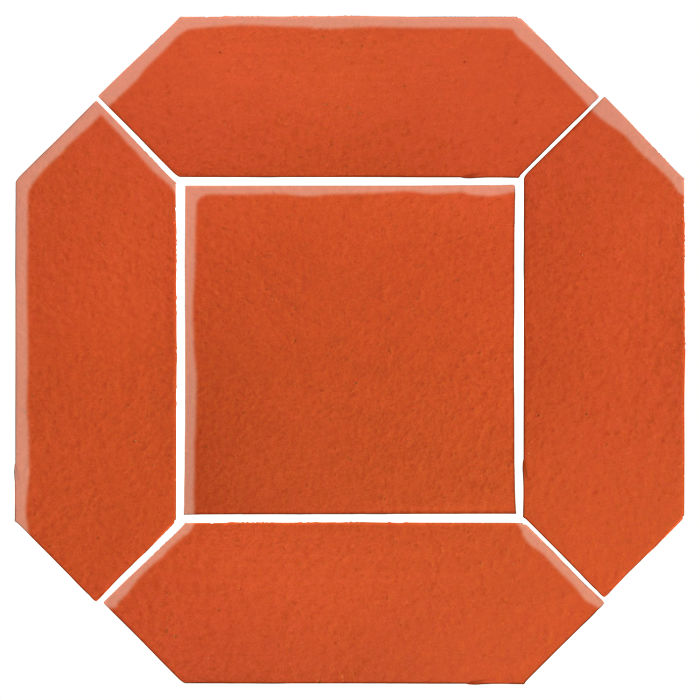 4x12 Monrovia Picket Set (2 Pcs 4x12 Monrovia Picket and 1 Pc 8x8 Monrovia) Hazard Orange
