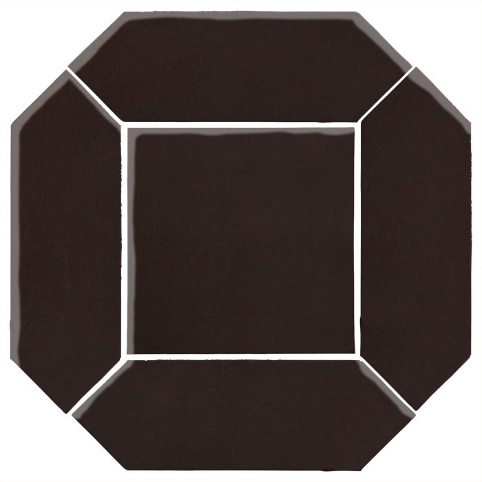 4x12 Monrovia Picket Set (2 Pcs 4x12 Monrovia Picket and 1 Pc 8x8 Monrovia) Licorice