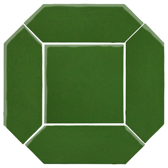 4x12 Monrovia Picket Set (2 Pcs 4x12 Monrovia Picket and 1 Pc 8x8 Monrovia) Lucky Green 7734c