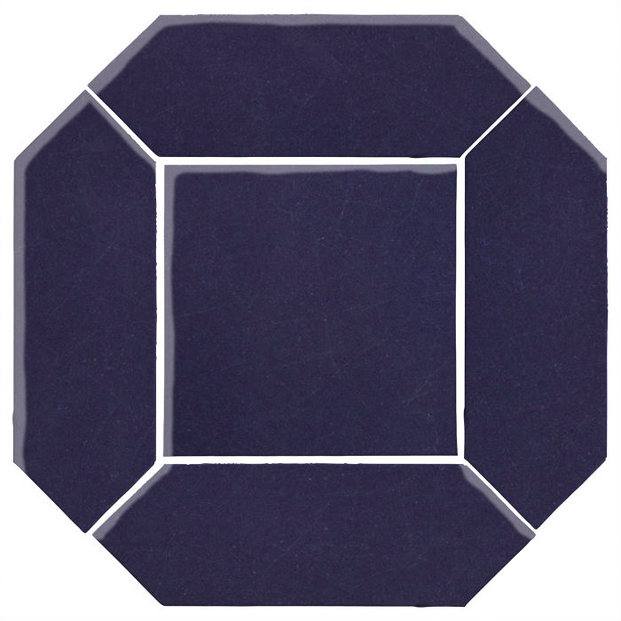 4x12 Monrovia Picket Set (2 Pcs 4x12 Monrovia Picket and 1 Pc 8x8 Monrovia) Midnight Blue 2965c
