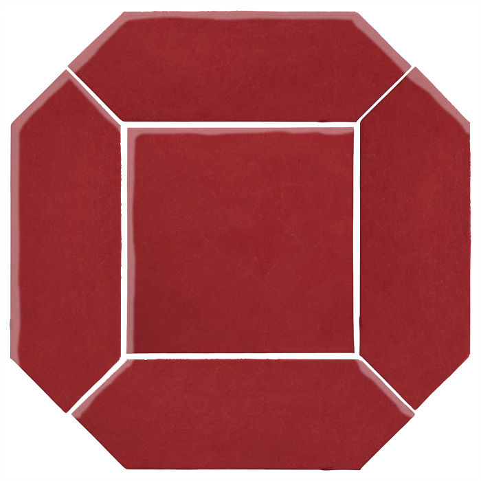 4x12 Monrovia Picket Set (2 Pcs 4x12 Monrovia Picket and 1 Pc 8x8 Monrovia) Pinot Noir 7642c