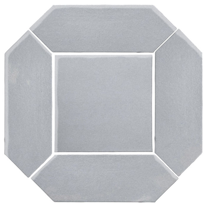 4x12 Monrovia Picket Set (2 Pcs 4x12 Monrovia Picket and 1 Pc 8x8 Monrovia) Silver Shadow