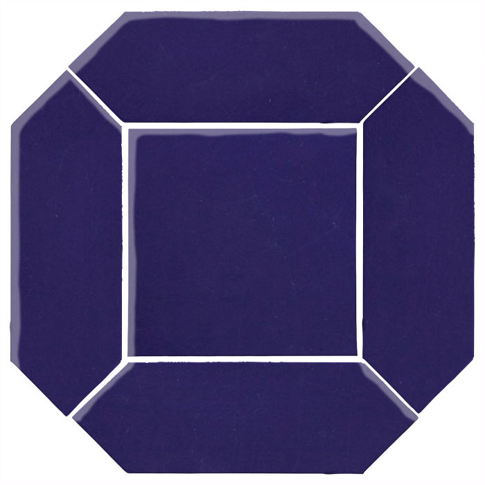 4x12 Monrovia Picket Set (2 Pcs 4x12 Monrovia Picket and 1 Pc 8x8 Monrovia) Ultramarine 2758c