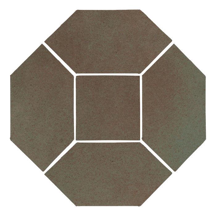4x8 Monrovia Picket Set (4 Pcs 4x8 Monrovia Picket and 2 Pcs 4x4 Monrovia) Elder Green