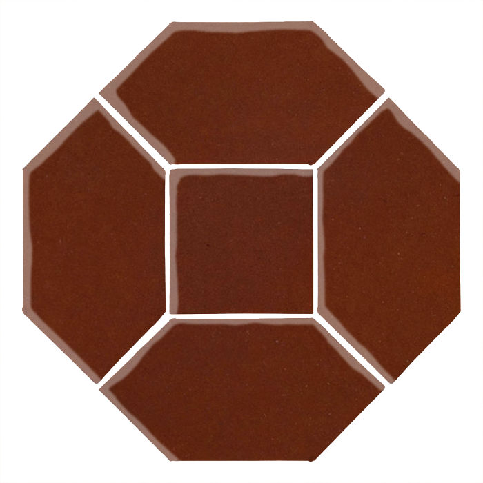 4x8 Monrovia Picket Set (4 Pcs 4x8 Monrovia Picket and 2 Pcs 4x4 Monrovia) Mocha 7581c