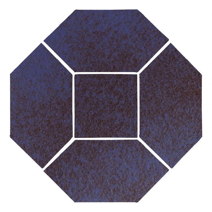 4x8 Monrovia Picket Set (4 Pcs 4x8 Monrovia Picket and 2 Pcs 4x4 Monrovia) Persian Blue
