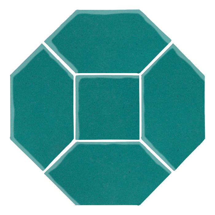 4x8 Monrovia Picket Set (4 Pcs 4x8 Monrovia Picket and 2 Pcs 4x4 Monrovia) Real Teal 5483c