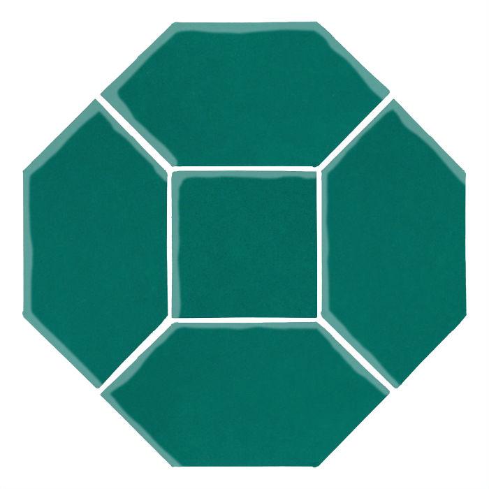 4x8 Monrovia Picket Set (4 Pcs 4x8 Monrovia Picket and 2 Pcs 4x4 Monrovia) Viridian 7721c