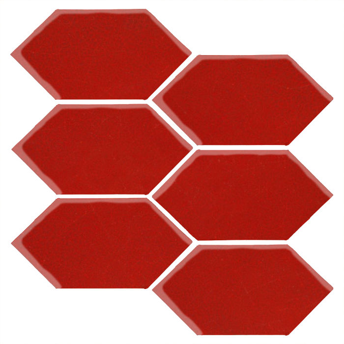 4x8 Monrovia Picket Brick Red 7624c