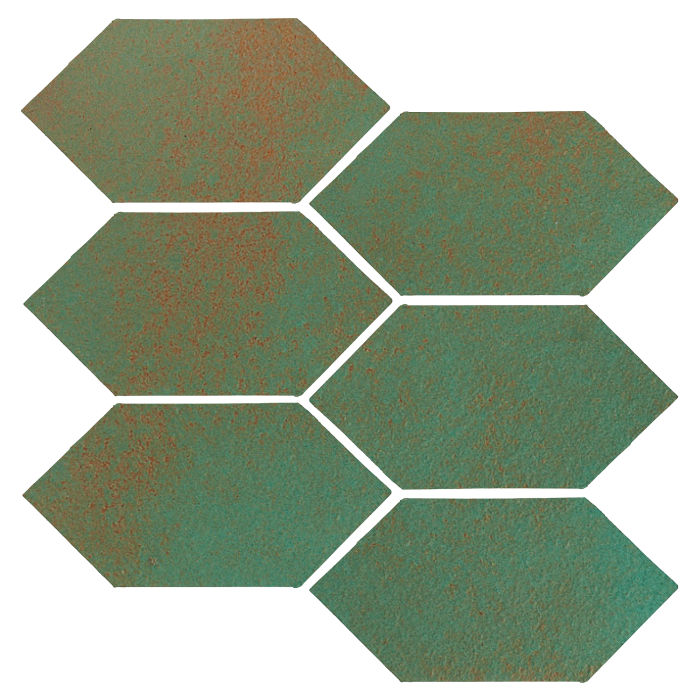 4x8 Monrovia Picket Copper