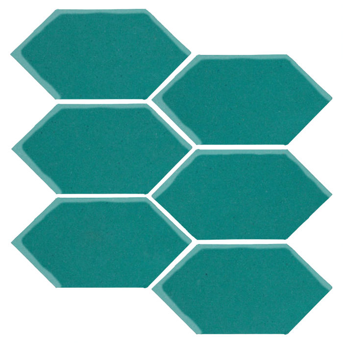 4x8 Monrovia Picket Real Teal 5483c