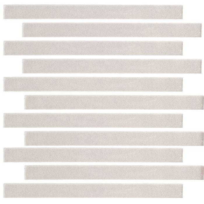 1x9 Monrovia Pure White