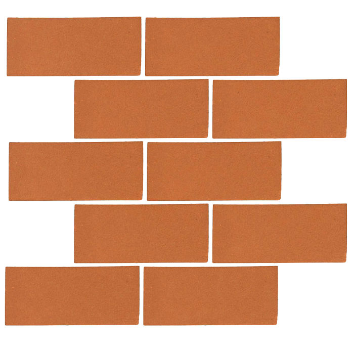 3x6 Monrovia Pottery Brown 470u