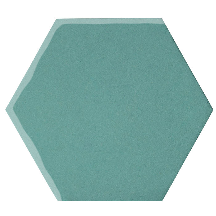 12x12 Oleson Hexagon Blue Haze 7458c