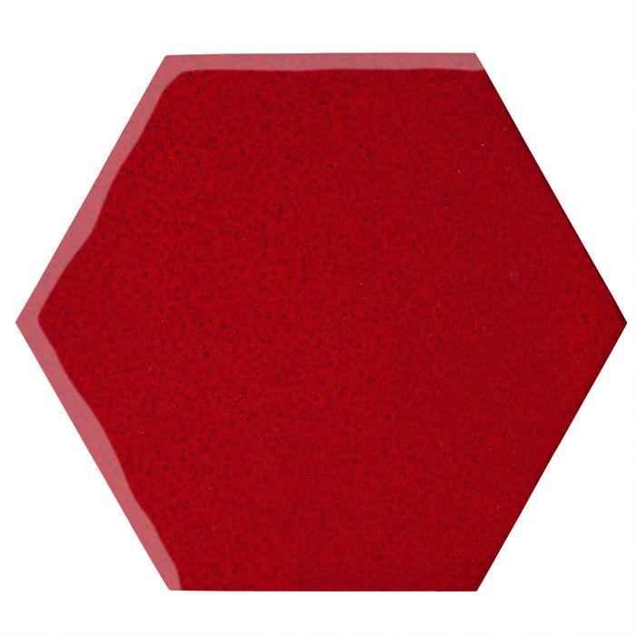 12x12 Oleson Hexagon Cadmium Red 202c