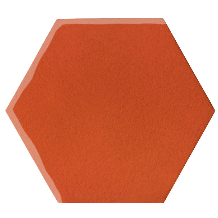 12x12 Oleson Hexagon Hazard Orange