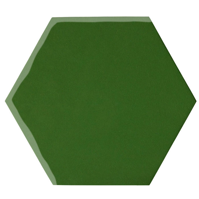 12x12 Oleson Hexagon Lucky Green 7734c