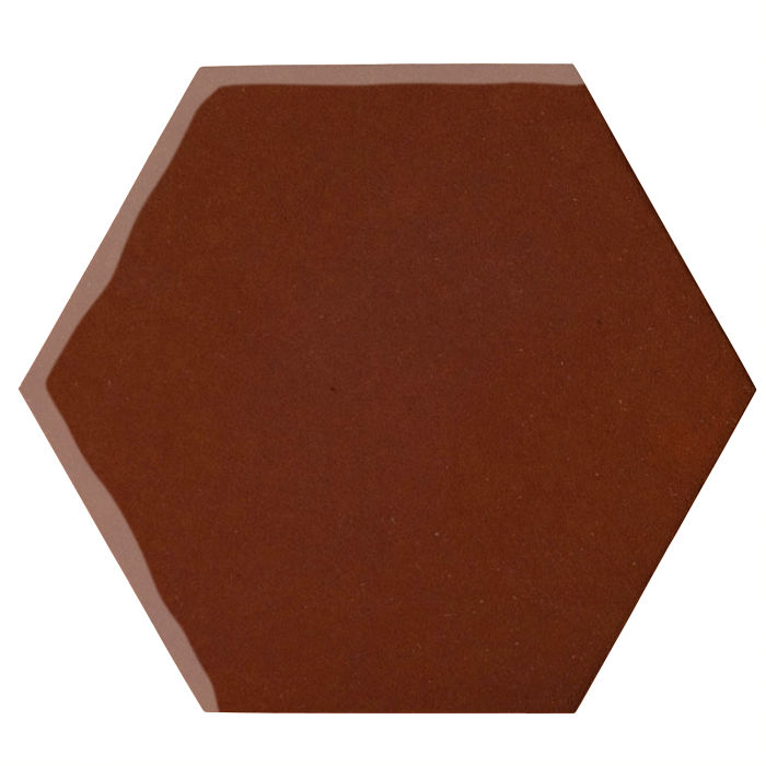 12x12 Oleson Hexagon Mocha 7581c