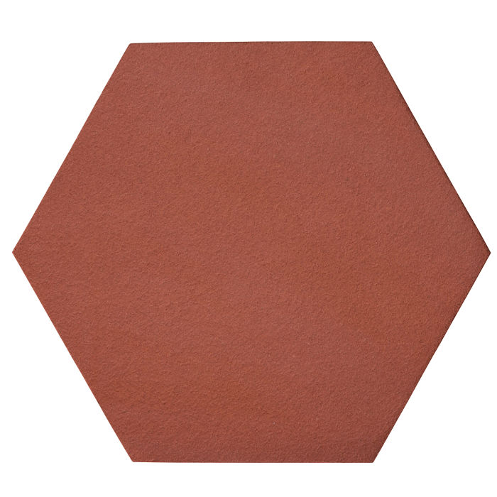 12x12 Oleson Hexagon Monrovia Red