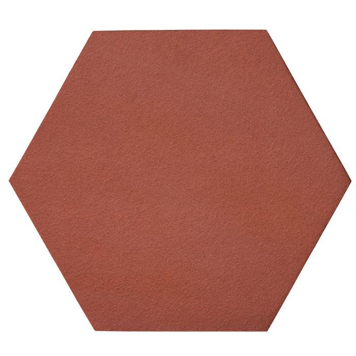 12x12 Oleson Hexagon Monrovia Red