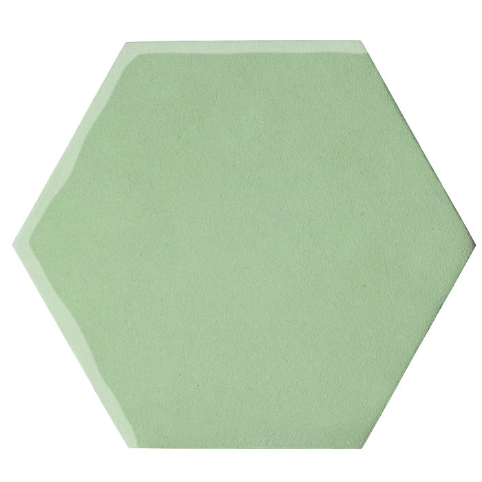 12x12 Oleson Hexagon Peppermint