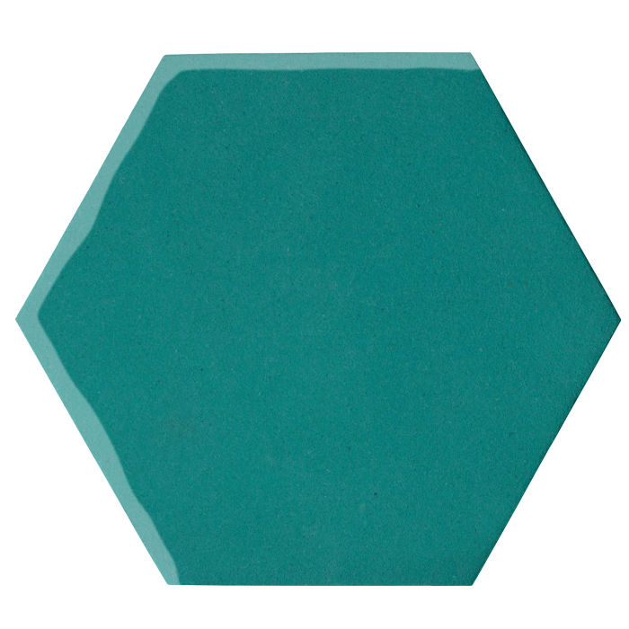 12x12 Oleson Hexagon Real Teal 5483c