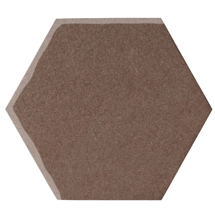 12x12 Oleson Hexagon Suede 405c
