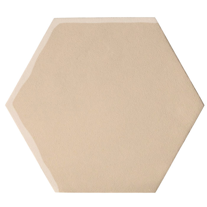 12x12 Oleson Hexagon White Bread 7506c