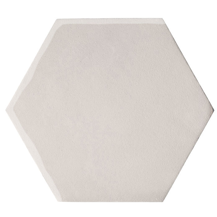 12x12 Oleson Hexagon Pure White