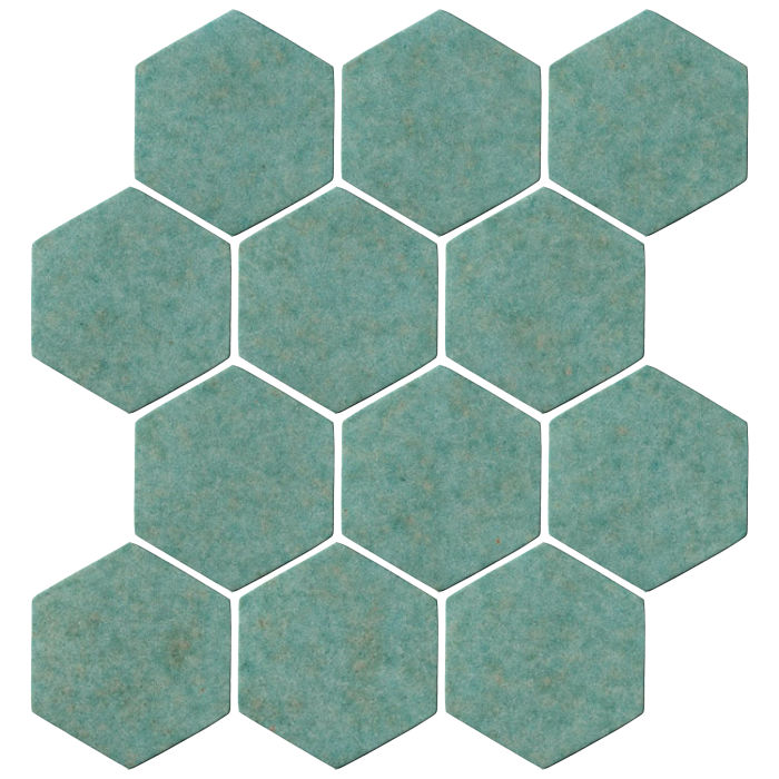 4x4 Oleson Hexagon Aqua 5503u