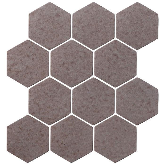 4x4 Oleson Hexagon Ash
