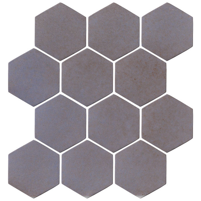 4x4 Oleson Hexagon Black and Blue