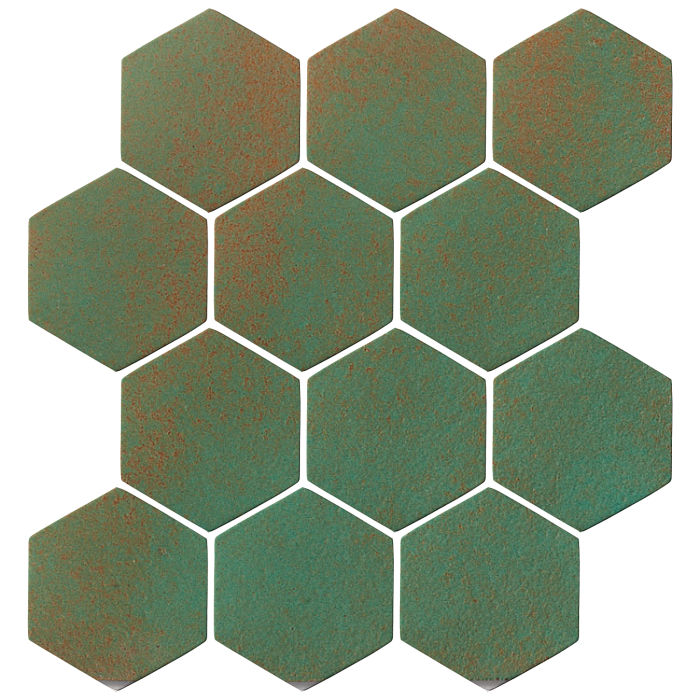 4x4 Oleson Hexagon Copper